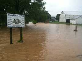 This photo was taken in Blain, Perry County.