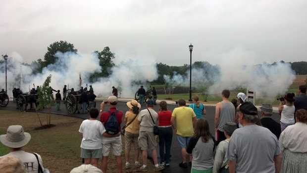 The Gettysburg 150 commemoration gets under way Monday morning in Gettysburg.