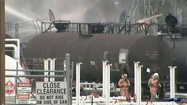 7.2.13 Lancaster train fire vid