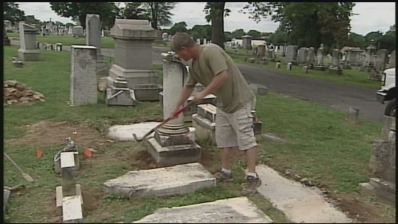 News 8 Today 7.3.13 hanover cemetery
