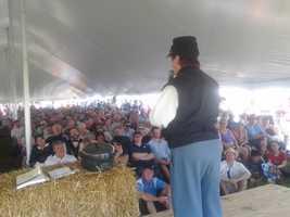 Thursday, July 4, encampment at Redding Farm.