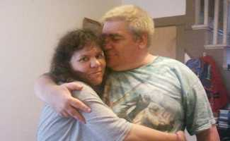 David Kuhns, shown here with wife Crystal, also died in the fire.