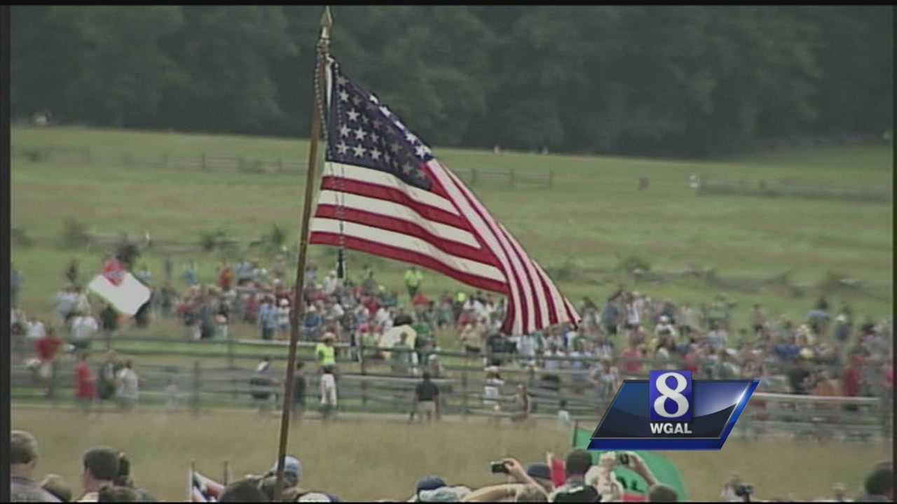 Gettysburg address read