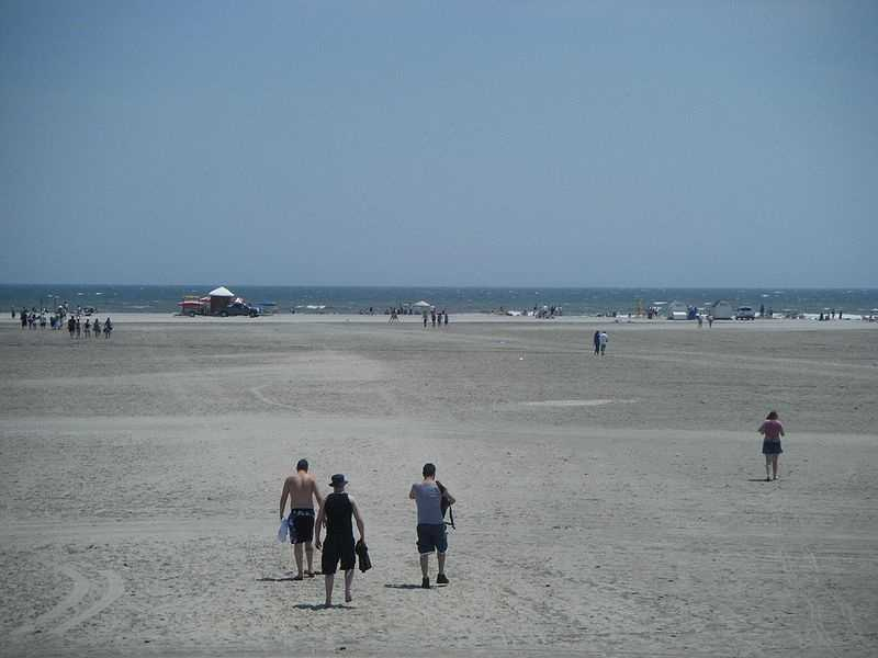 Wildwood, NJ, also received quite a few votes.