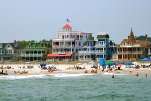 Cape May, NJ, was one of the top choices.
