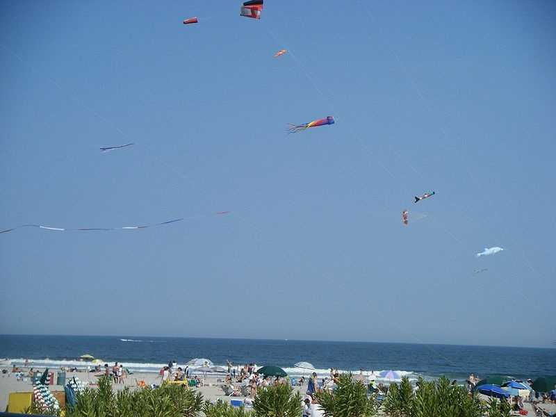 Ocean City, NJ's, year round population is about 11,000. But come the summer season, it swells to well over 100,000.