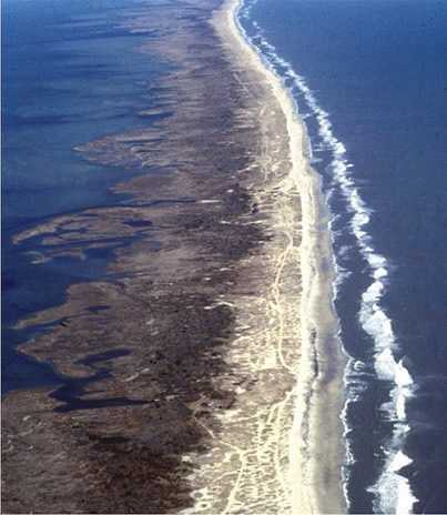 The Outer Banks' miles of beaches draw tourists from around the country. The entire island chain is more than 200 miles long.