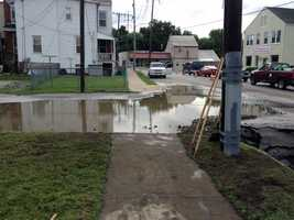 Crews in York are repairing a water main break on Parkway Boulevard.