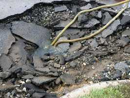 The 10-inch water main, which is located between North George and Beaver streets, broke early Thursday. The pipe dates back to 1954.