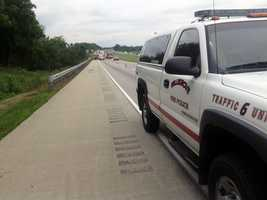 Friday afternoon a tractor-trailer crashed along I-81 in Lebanon County.