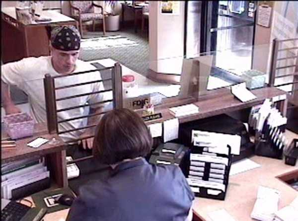 Police say the man, described as being in his 20s, robbed the Northwest Bank at 1 W. Main Ave. in Myerstown Borough at 9:40 a.m.