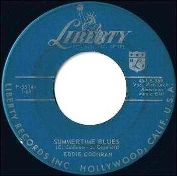 Summertime Blues (there is still no cure for it): Eddie Cochran, 1958. Listen here.