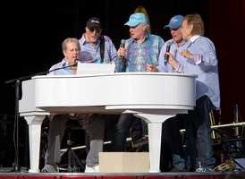 """There were a lot of fans who said """"Anything by the Beach Boys."""" This one was a popular pick – California Girls: Beach Boys, 1965. Listen here."""