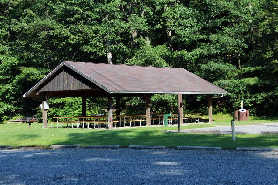 There are two picnic pavilions that may be reserved up to 11 months in advance for a fee.