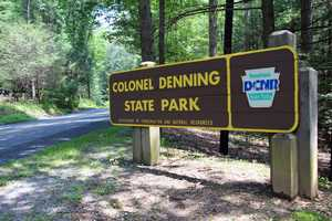 Colonel Denning State Park, which includes 273 acres of woodland, is located in central Cumberland County.
