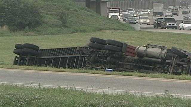 7.23 truck crash