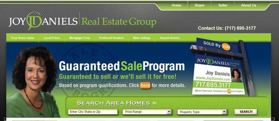 Joy Daniels Real Estate Group, Harrisburg, Dauphin County.