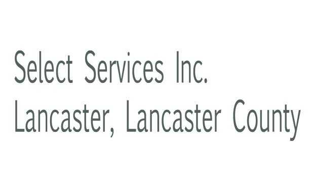Select Services, Inc., Lancaster, Lancaster County.