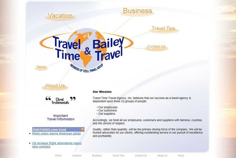 Travel Time/ Bailey Travel,Lancaster, Lancaster County.