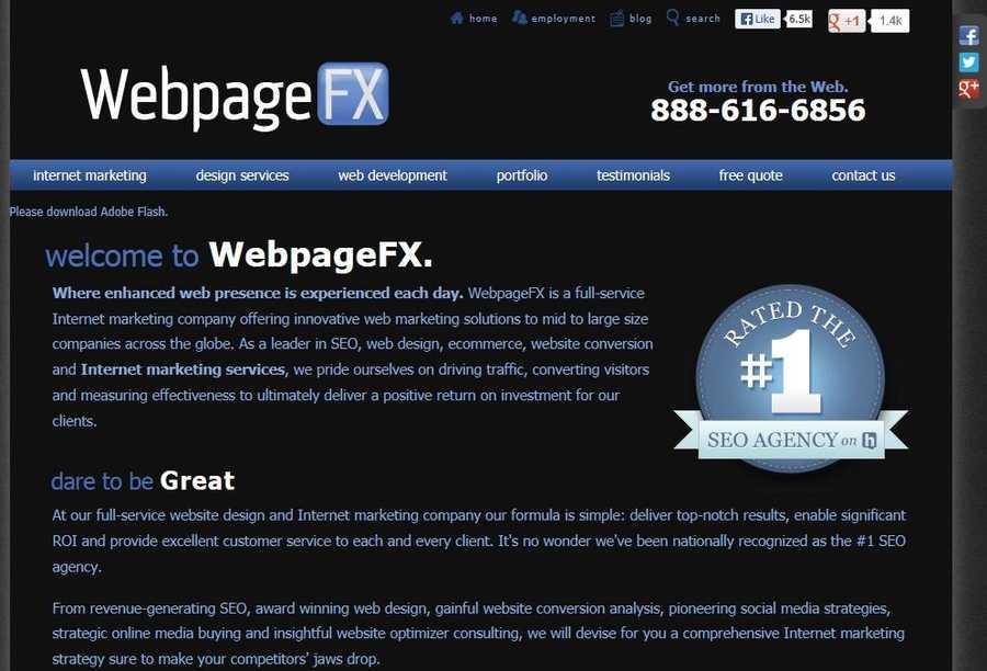 WebpageFX, Inc.,Carlisle, Cumberland County.