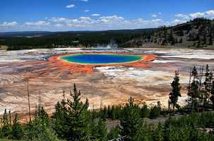 Yellowstone National Park – Wyoming: No amount listed