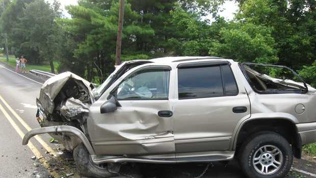 This SUV was pulled out of a Lancaster County ravine on Sunday, after a teenager was trapped inside for 18 hours.
