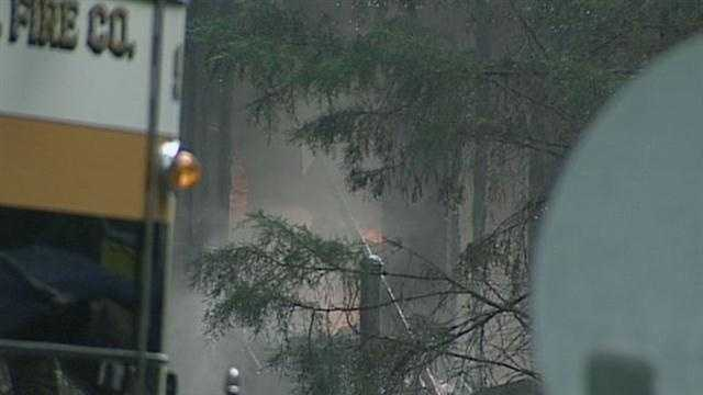 The fire broke out shortly after 5:30 a.m. Tuesday in the home on Quiet Stream Lane.