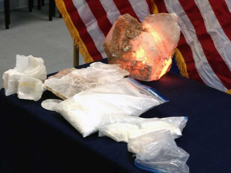 These are among the items law enforcement officials seized as part of the investigation.