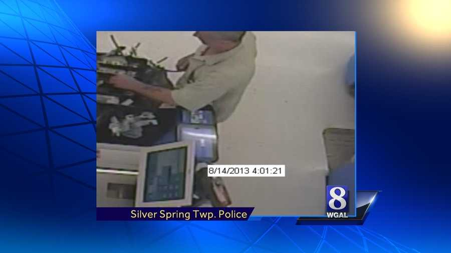 Police say this man was armed with a box cutter when he robbed the Silver Spring Township Wal-Mart in Cumberland County on Wednesday morning.