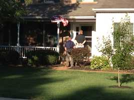 Upper Darby police showed up at this home on Wednesday, Aug. 14.