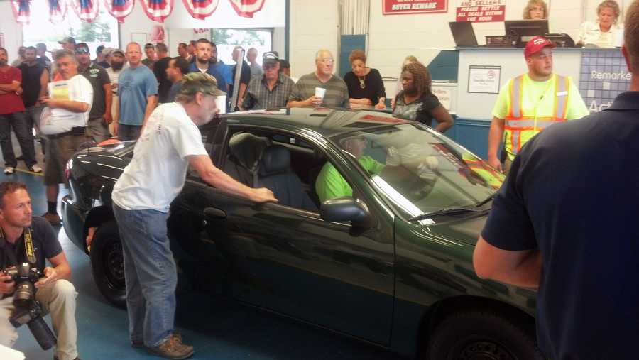 Carlisle Events held its 10th annual Charity Care Auction Thursday to benefit the Carlisle Salvation Army.