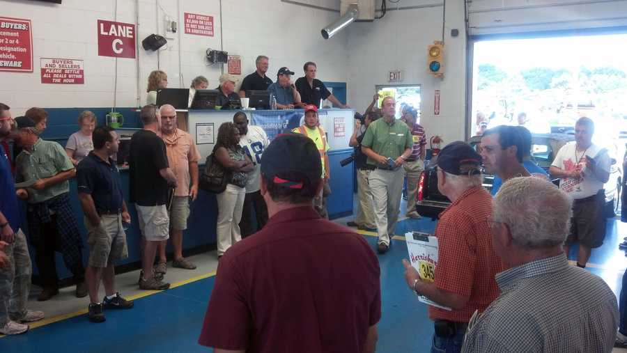 The auction raised $25,050.