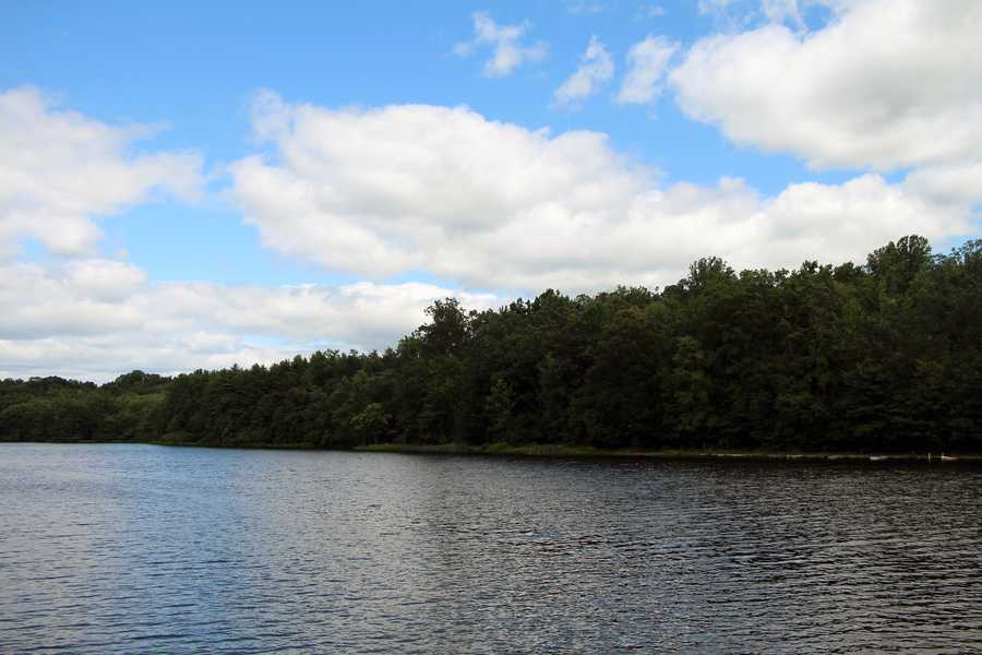 Scotts Run Lake, which is 22 acres, provides another place to boat and fish.
