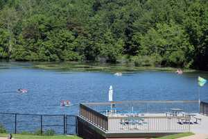 Park visitors can boat and fish on the 68-acre Hopewell Lake.