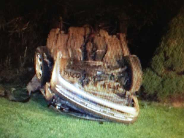 Four teenagers were injured early Thursday morning in a crash in Carroll Township, York County.