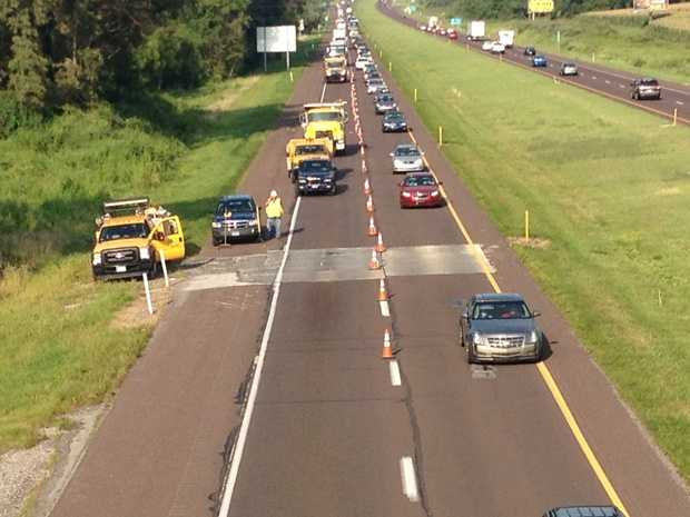 A sinkhole caused major problems on Route 30 in York County Thursday.