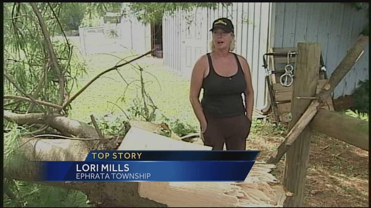 9.3 Lancaster County storm damage