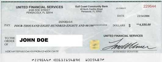 8: Don't agree to deposit a check and wire money back.
