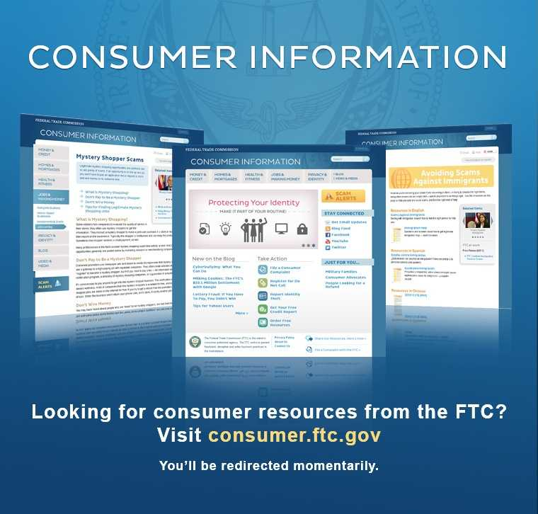 The tips and information in this slideshow come from the Federal Trade Commission, which works to prevent fraudulent, deceptive and unfair business practices in the marketplace and to provide information to help consumers spot, stop and avoid them.