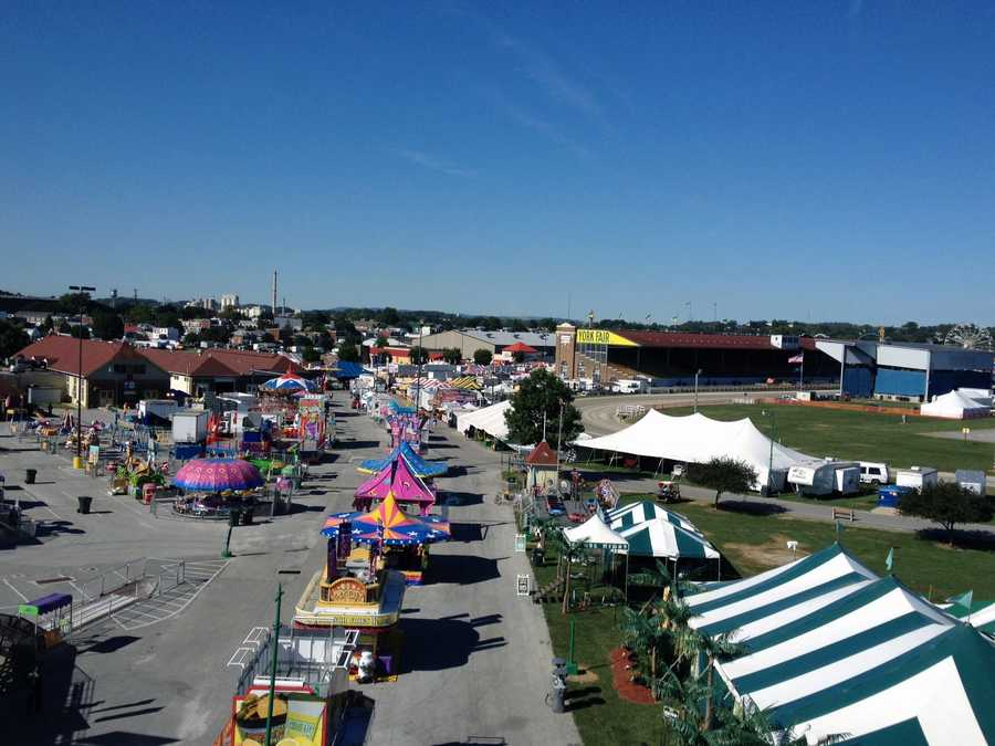 The York Fair starts Friday and runs through Sept. 15.