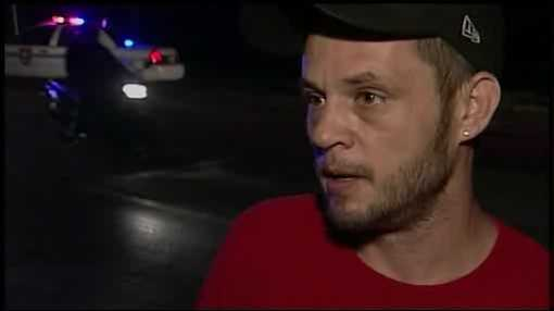 "Jeremy Smith lives in the home where the bus crashed and says he and his family could have been killed. ""I was scared. I looked out my window there and saw a headlight,"" said Smith. ""Thank God he didn't hurt us. I mean, it was literally inches from our house … that tree saved our lives."""