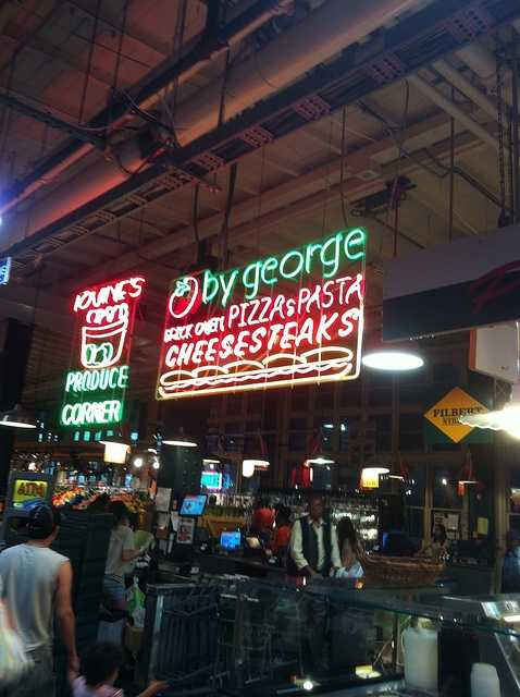 Pizza cheesesteaks were a popular, and specific, choice of many of our Facebook fans.