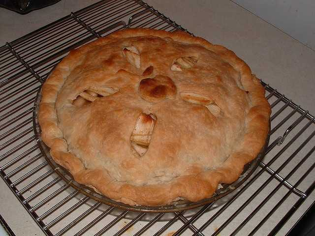 Snitz pie, which is a type of apple pie.