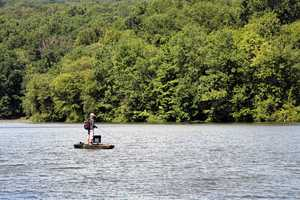 Motorboats must display a current boat registration.