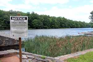 The cold-water lake offers excellent trout and other cold-water species fishing.