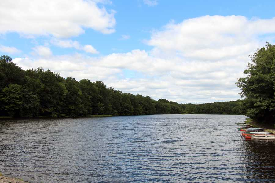 Scotts Run Lake is also in French Creek State Park.