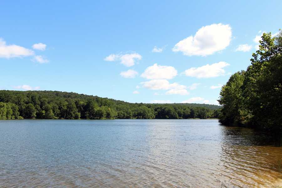 Hopewell Lake is one of two lakes at French Creek State Park, which is located in Berks and Chester counties.