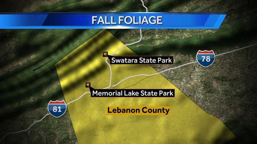 Click here for a tour of Swatara State Park. Click here for a tour of Memorial Lake State Park.