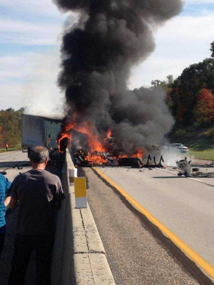 Monday, Sept. 30: A fatal truck crash closed a large portion of the Pa. Turnpike. Officials said the truck was traveling west and went through the barrier into the eastbound lanes in Metal Township, Franklin County.