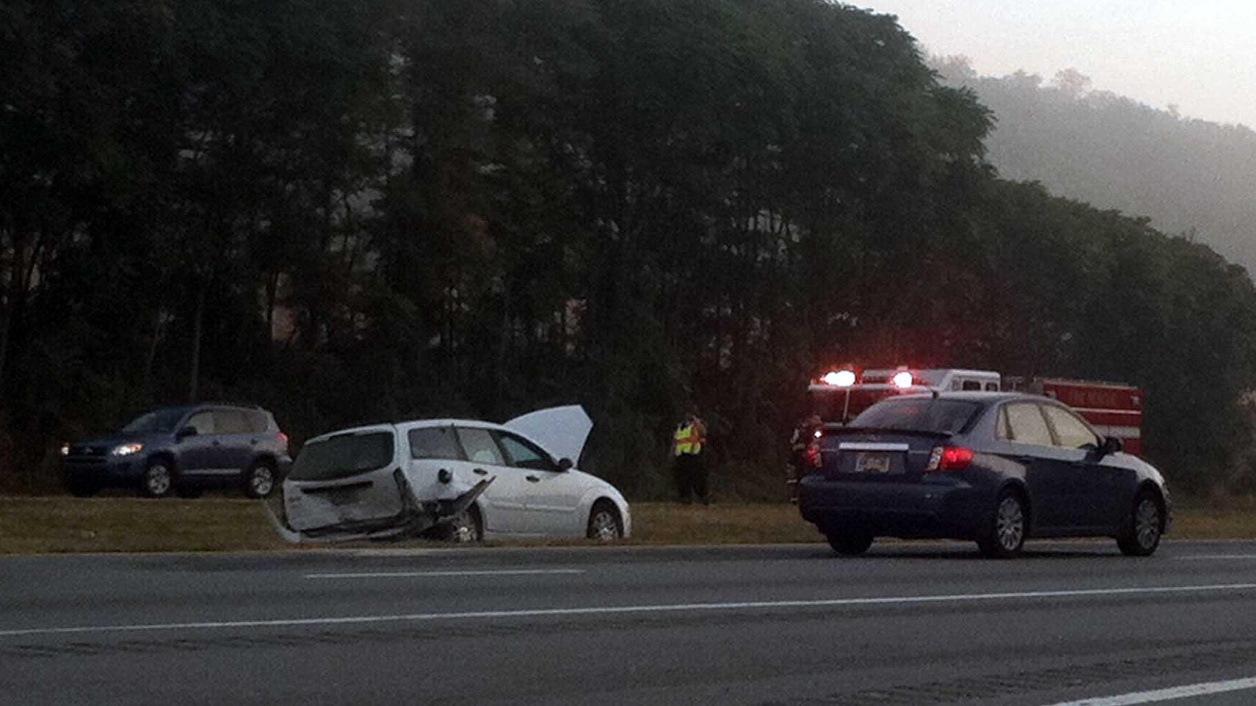 10.4 Route 30 crash